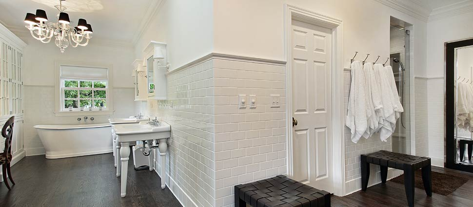 Luxury Bathroom Remodeling Contractors serving central Vermont since 1898